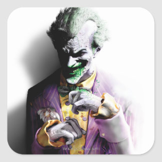Batman Arkham City   Joker Square Sticker