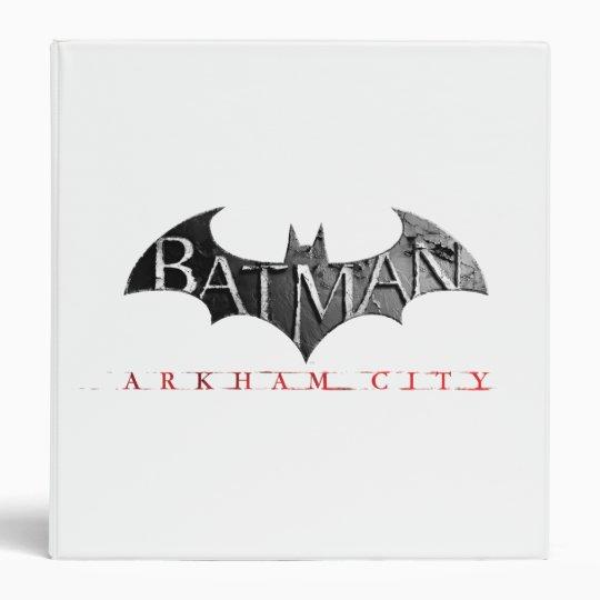 Batman Arkham City Logo Binder