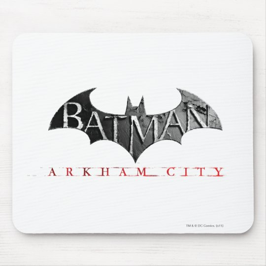 Batman Arkham City Logo Mouse Pad