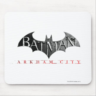 Batman Arkham City Logo Mousepad