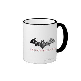 Batman Arkham City Logo Ringer Mug