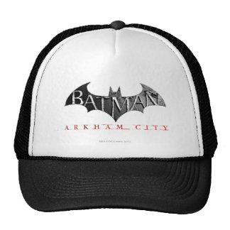 Batman Arkham City Logo Trucker Hat