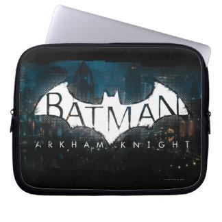 Batman Arkham Knight Gotham Logo Computer Sleeves