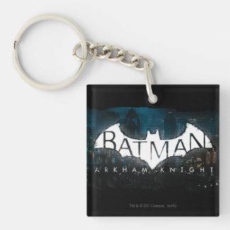 Batman Arkham Knight Gotham Logo Keychain