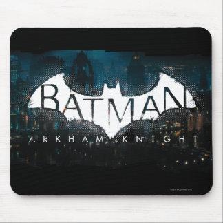 Batman Arkham Knight Gotham Logo Mouse Pad