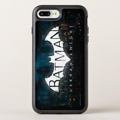Batman Arkham Knight Gotham Logo OtterBox Symmetry iPhone 8 Plus/7 Plus Case