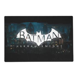 Batman Arkham Knight Gotham Logo Placemat