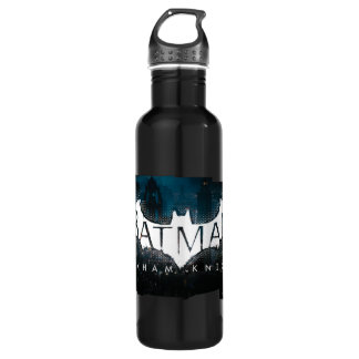 Batman Arkham Knight Gotham Logo Stainless Steel Water Bottle