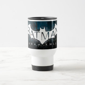 Batman Arkham Knight Gotham Logo Travel Mug