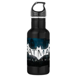 Batman Arkham Knight Gotham Logo Water Bottle