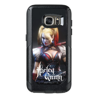 Batman Arkham Knight | Harley Quinn with Bat OtterBox Samsung Galaxy S7 Case