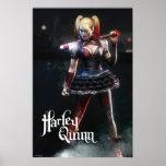 Batman Arkham Knight   Harley Quinn with Bat Poster