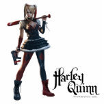 "Batman Arkham Knight | Harley Quinn with Bat Statuette<br><div class=""desc"">Batman: Arkham Knight 