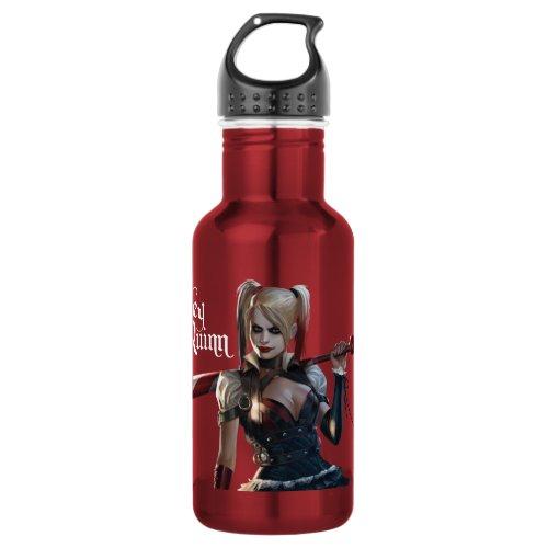Batman Arkham Knight | Harley Quinn with Bat Water Bottle