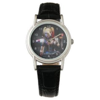Batman Arkham Knight | Harley Quinn with Bat Wrist Watch