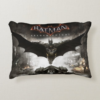 Batman Arkham Knight Key Art Accent Pillow