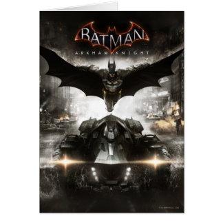 Batman Arkham Knight Key Art Card