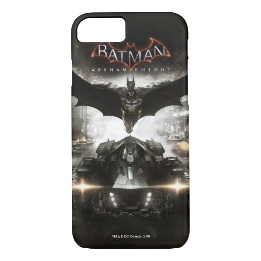 Batman Arkham Knight Key Art iPhone 8/7 Case