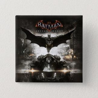 Batman Arkham Knight Key Art Pinback Button