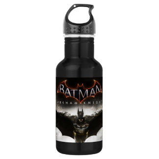 Batman Arkham Knight Key Art Stainless Steel Water Bottle