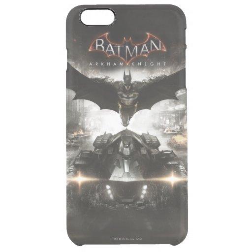 Batman Arkham Knight Key Art Clear iPhone 6 Plus Case