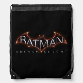 Batman Arkham Knight Logo Drawstring Bag