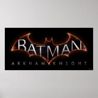 Batman Arkham Knight Logo Poster