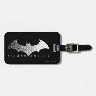 Batman Arkham Knight Pixel Logo Bag Tag