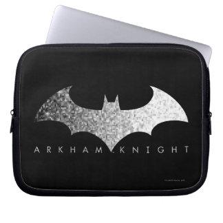 Batman Arkham Knight Pixel Logo Laptop Computer Sleeve