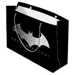 Batman Arkham Knight Pixel Logo Large Gift Bag