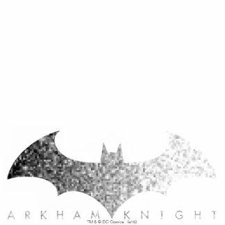 Batman Arkham Knight Pixel Logo Statuette