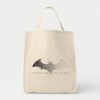 Batman Arkham Knight Pixel Logo Tote Bag