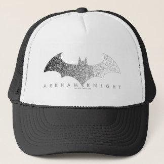 Batman Arkham Knight Pixel Logo Trucker Hat
