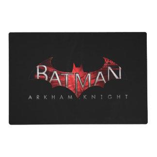 Batman Arkham Knight Red Logo Placemat