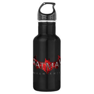 Batman Arkham Knight Red Logo Stainless Steel Water Bottle