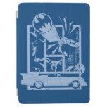Batman - azul de Picto Cubierta De iPad Air