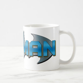 Batman azul y de plata tazas de café