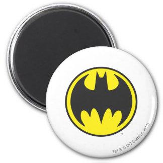 Batman Bat Logo Circle Magnet