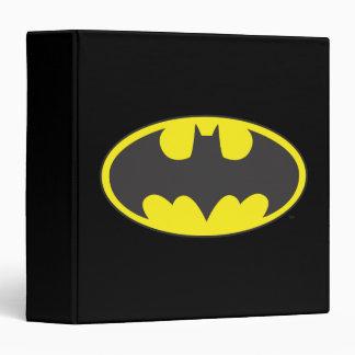 Batman Bat Logo Oval 3 Ring Binder