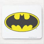 Batman Bat Logo Oval Mouse Pad