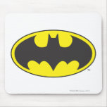 Batman Bat Logo Oval Mousepad