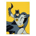 Batman Batarang 5x7 Paper Invitation Card