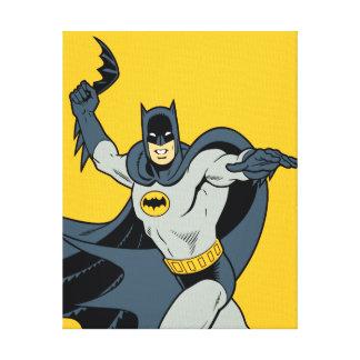 Batman Batarang Impresión En Lona Estirada