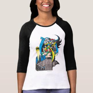 Batman/Batgirl/petirrojo Camisas