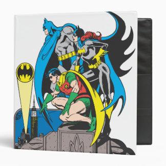 Batman/Batgirl/Robin 3 Ring Binder