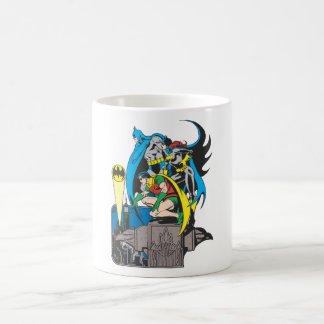 Batman/Batgirl/Robin Classic White Coffee Mug