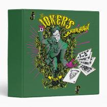 school, binders, back to school binders, batman, joker, Binder with custom graphic design