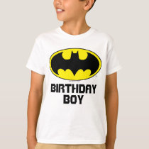 Batman | Birthday Boy - Name & Age T-Shirt