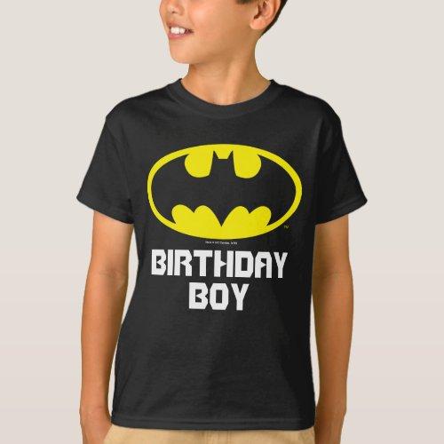 Batman  Birthday Boy _ Name  Age T_Shirt