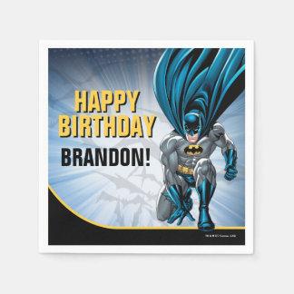 Batman Birthday Paper Napkin